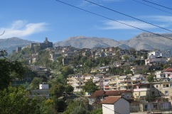 Gjirokastr - old and new