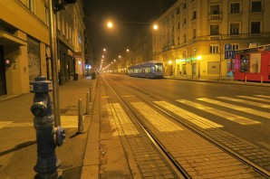 Zagreb at night