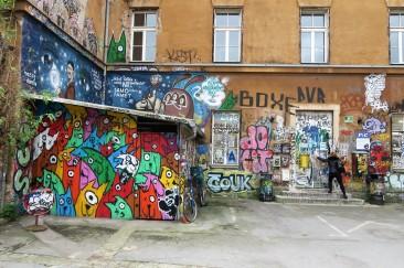 Ljubljana's graffiti I