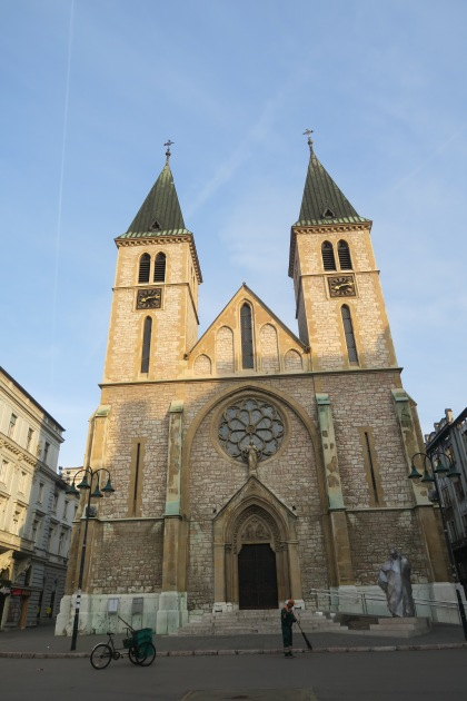 Catholic Cathedral of Jesus' Heart in Sarajevo