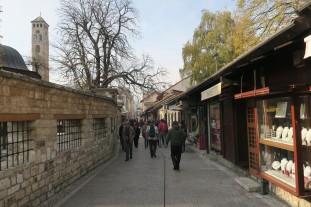 Sarajevo's old town