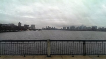 Charles river of Boston