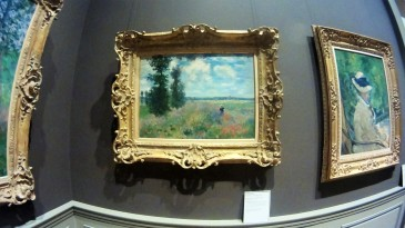 Devoted to my Granma Adamantia. Monet! (I think you have a copy of this outside your kitchen, right?)