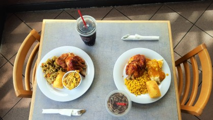 Saturday's be lke - 1 plus 1 - Boston Market - hehe