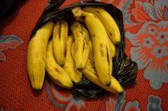 "That was funny because I had 0.7 $ in my pocket, and I just said ""I want 0.7$ of Bananas"". OOhh!"