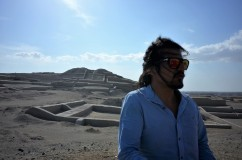 Roy and the pyramids of Cahuachi