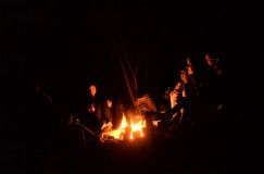 music by the fire,
