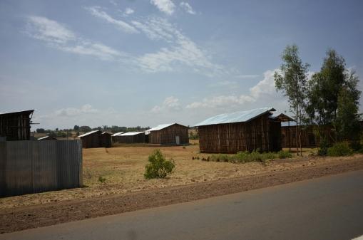 Στην Αιθιοπία μικρό μέρος του πληθυσμού ζει στις πόλεις